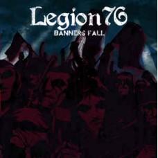 Legion 76  Banners Fall  Black  10inch