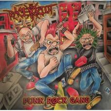Race Riot 59  Punk Rock Gang   Highlighter Yellow