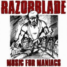 Razorblade - Music for maniacs LP (2nd press, lim 250, 3clrs, dwnld code, gold)