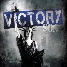 Victory - S.O.S. LP (RP, silver w blue splatter)