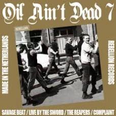 v/a - Oi! Ain't Dead 7 LP (lim 500, 2 clrs)