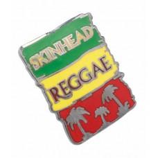 kovový odznak - metal pin Skinhead Reggae