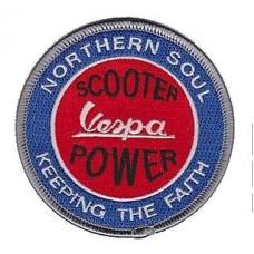P35  Nášivka Vespa - Northern Soul