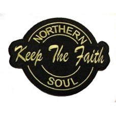 nášivka Northern Soul - Keep the Faith
