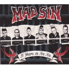 Mad Sin - 20 Years in Sin Sin Souble CD Digi Pack