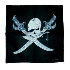 """Šátek """"Pirátská lebka"""""""