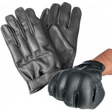 Pískové kožené rukavice Mil Tec