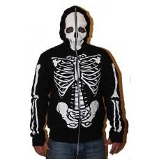 mikina na zip Full Direction skelet