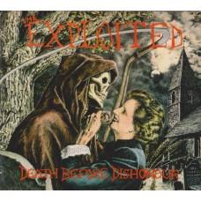 Exploited - Death Before Dishonour digi pack CD