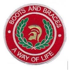 Nášivka Boots and Braces