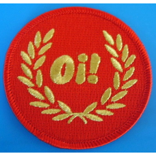 P156 nášivka SKINHEAD PATCH - OI RED