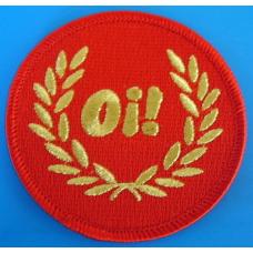 P156 nášivka SKINHEAD PATCH - OI RED