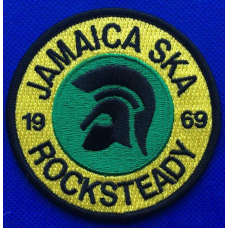 P178 nášivka  JAMAICA SKA ROCKSTEADY 1969 PATCH
