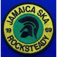 P178 nášivka  JAMAICA SKA ROCKSTEADY 1969 PATCH