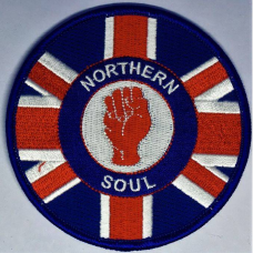 P262 nášivka NORTHERN SOUL UNION JACK PATCH