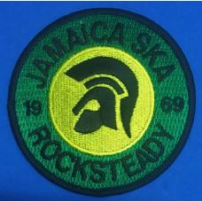 P268 nášivka  JAMAICA SKA 1969 ROCKSTEADY PATCH