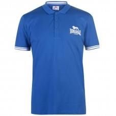 Men's Slim Fit Polo Shirt Lonsdale Blue