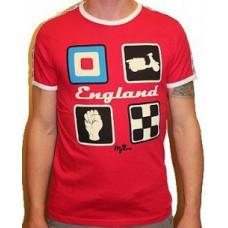 T-shirt Warrior - Mod target England