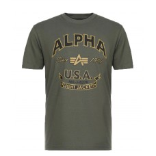 T-shirt Alpha Industries FJT OLIVE