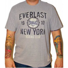 Triko Everlast grey / black sign