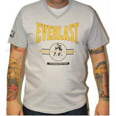 Triko Everlast grey / yelllow sign