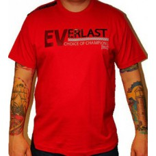 Triko Everlast red / black sign