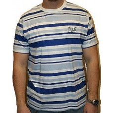 Triko Everlast white navy stripes