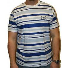 Triko Everlast white navy stripes
