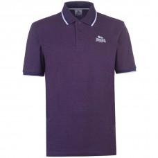 Polokošile Lonsdale Tipped Purple