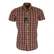 Relco London shirt  Burgundy