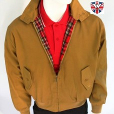 harrington Warrior clothing mustard