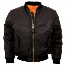Bomber Jacket MA1 Relco London Black