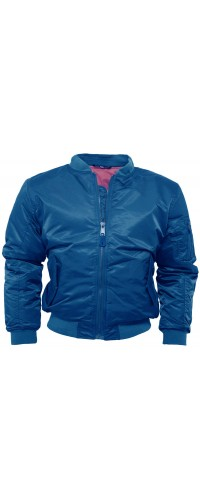 Bomber Jacket MA1 Relco London Blue
