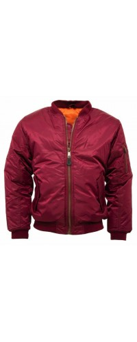 Bomber Jacket MA1 Relco London Red