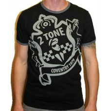 T-shirt Warrior - Twotone coventry Black