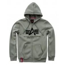 Alpha Industries OLIVE zip hoodie