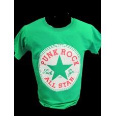 triko Punk Rock All Star Green