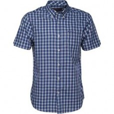 short sleeve Shirt  Ben Sherman button down Blue