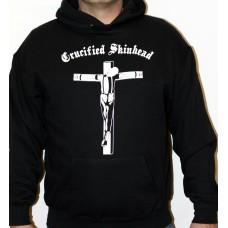 mikina s kapucou Crucified Skinhead