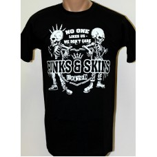 triko Punks and Skins United black