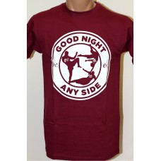Triko Good night Any Side - burgundy