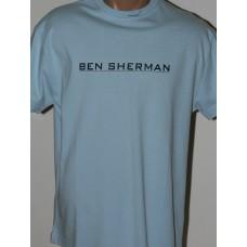 T-shirt Ben Sherman light blue