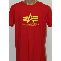 T-shirt Alpha Industries classic  RED
