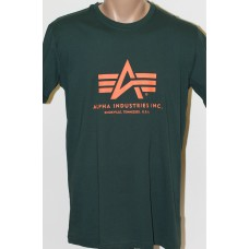 T-shirt Alpha Industries classic Dark petrol