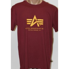 T-shirt Alpha Industries classic  Burgundy