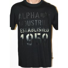 T-Shirt Alpha Industries black