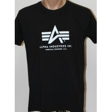 T-shirt Alpha Industries classic BLACK