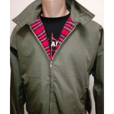 Harrington Knightsbridge Dark Olive Green