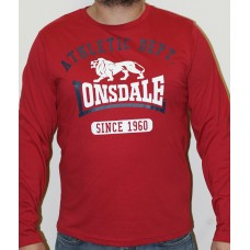 T-shirt Lonsdale RED