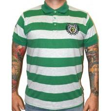 Polokošile Everlast green stripe